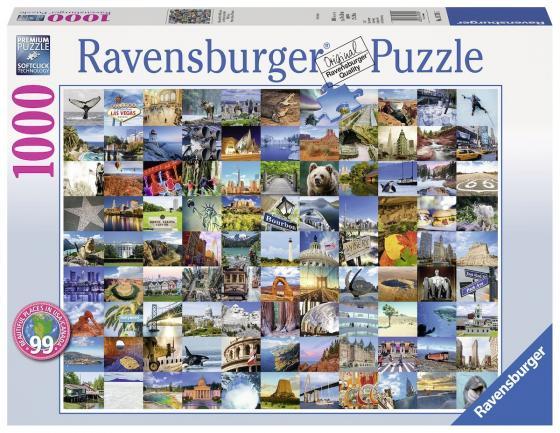 Пазл «99 красивых мест Америки и Канады» 1000 шт пазлы ravensburger паззл маяк на полуострове брус 1000 шт