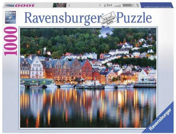 Пазл «Берген, Норвегия» 1000 шт ravensburger ravensburger пазл венеция 1000 шт