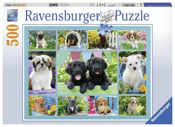 Пазл «Милые щенки» 500 шт пазл ravensburger белые щенки 14238
