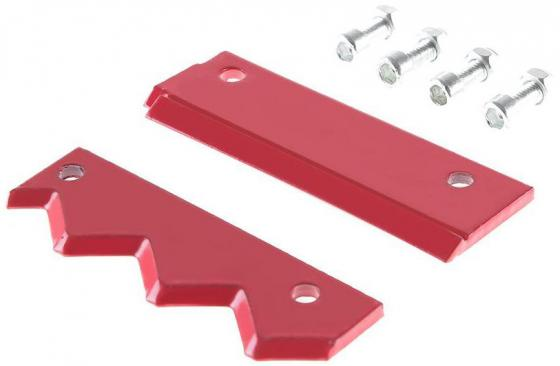 Пластина режущая (нож) Hammer Flex 210-025  к шнеку 210-030 по грунту 10 (250мм) HG, нерж. сталь