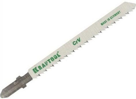 Купить Пилки для лобзика KRAFTOOL 159516-2.5-S5 CrV по дер, фанере, лам. обр.рез EUхвост. шаг2.5мм 75мм 5шт