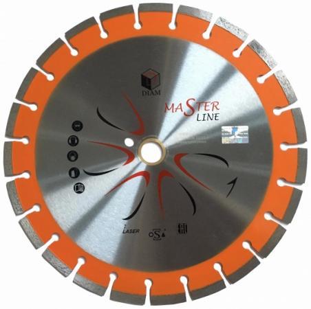 Круг алмазный DIAM Ф125x22мм Master Line 2.0x10мм универсальный