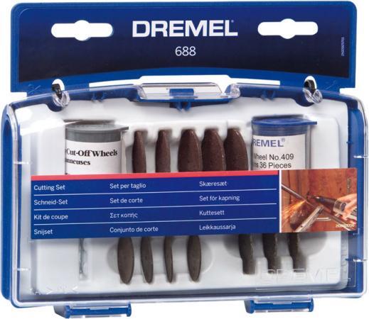 Набор насадок DREMEL 688 для резки набор насадок для резки по металлу dremel sc456 38 мм 2615s456jc
