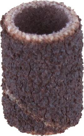 Насадка DREMEL 431 трубка наждачная, 6.4мм зерно 60, 6шт. шлифовальная щетка dremel sc473s зерно 220