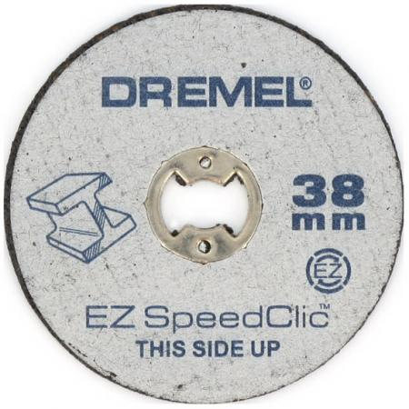 Круг отрезной DREMEL SC456 SPEED CLIC 38мм, 5шт. цена