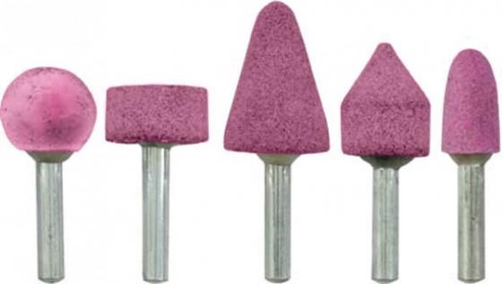 Набор шарошек FIT 36468 абразивные для фигурных отверстий по металлу 5 шт малые набор бандажей наждачных fit 10 шт