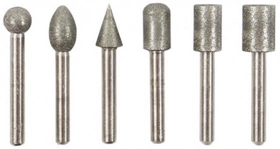 Шарошка FIT 36482 усиленная сталь с алмазным напылением хвостовик диам. 6мм 6шт. стоимость