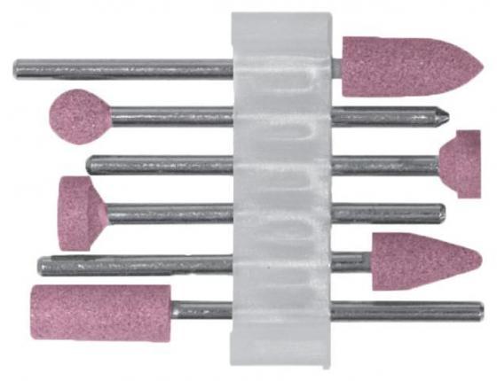 Шарошка FIT 36924 по металлу алюминий-оксидные мини набор 6шт.