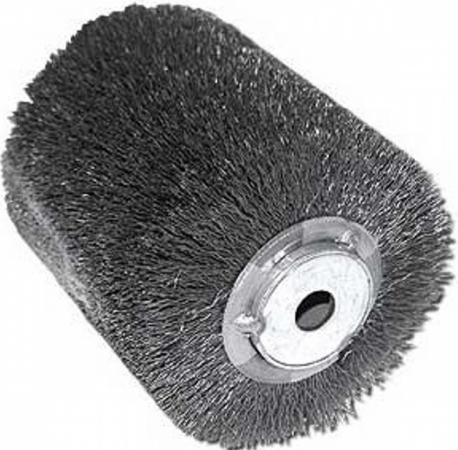 Щетка MAKITA P-04400 100 X 120мм, стальная проволока, для 9741 шлифовальная щетка makita p 65648 для 9741 1 шт