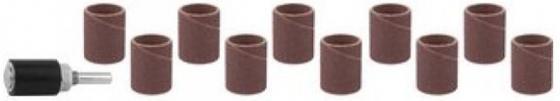 Насадка STAYER 29918-H10 цилиндр шлифовальный абразивный с оправкой d18.7мм р 80/120 10шт. рокси кидс ковшик для ванны с силиконовой ручкой 0 7л