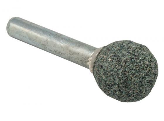 Шарошка абразивная ПРАКТИКА 641-282 шарообразная 16мм, хв.6мм, карбид кремния, Эксперт