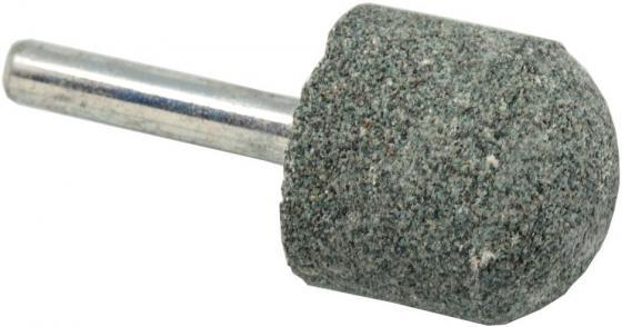 Шарошка абразивная ПРАКТИКА 641-312 закругленная 25х25мм, хв.6мм, карбид кремния, Эксперт