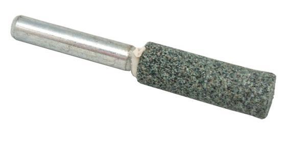 Шарошка абразивная ПРАКТИКА 641-404 цилиндрическая 10х32мм, хв.6мм, карбид кремния, Эксперт