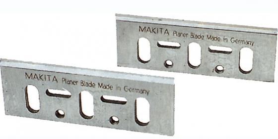 Нож для рубанка MAKITA D-16346 82мм, 2шт., для 1901,1902,1923Н,KP0810,KP0800 рубанок makita kp0800 620вт 82мм