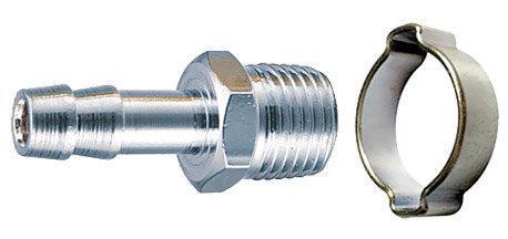Фото - Переходник FUBAG 180263 3/8M на елочку 10мм с обжимным кольцом 10x15мм переходник