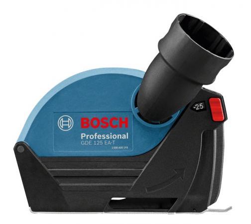 Кожух BOSCH GDE 125 EA-T (1.600.A00.3DJ) 125мм 25мм 0.3кг аксессуар насадка для пылеудаления bosch gde 230 fc t 1600a003dm
