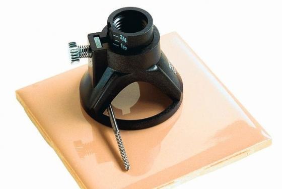 Приспособление DREMEL 566 для резки настенной керамической плитки приспособление для вырезания отверстий dremel 565