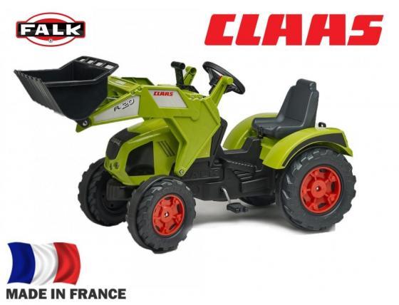 FAL1011D Трактор-экскаватор педальный FALK FAL1011D зеленый 140см каталка трактор falk педальный трактор экскаватор зелено черный от 3 лет пластик fal 1010wh