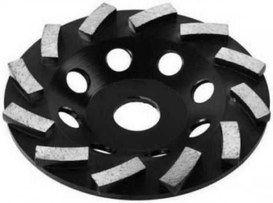 Чашка шлифовальная ЗУБР 33372-115 ЭКСПЕРТ алмазная сегментная двухрядная 22.2мм 115мм