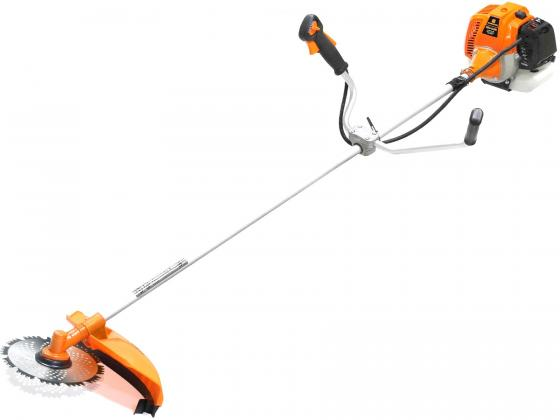 купить Мотокоса CARVER GBC-043MS 2.3лс 2х-тактный 43см3 0.95л нож 230мм леска2.4мм по цене 5820 рублей