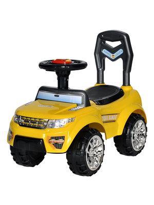 Каталка-машинка Everflo TIGER RANGE EC-652 пластик от 1 года на колесах желтый каталка машинка everflo range rover evoque ec 648 пластик от 1 года на колесах синий