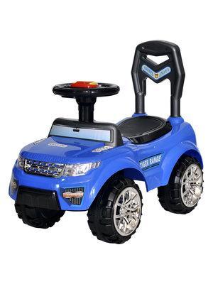 Каталка-машинка Everflo TIGER RANGE EC-652 пластик от 1 года на колесах синий каталка на палочке s s toys вертолет желтый от 1 года пластик