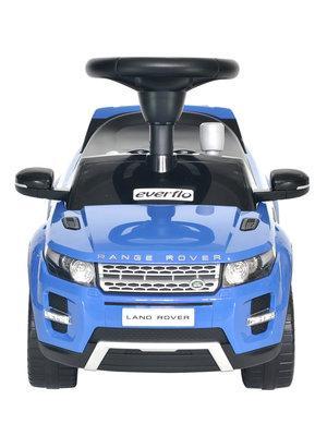 Купить со скидкой Каталка-машинка Everflo RANGE ROVER EVOQUE EC-648 пластик от 1 года на колесах синий