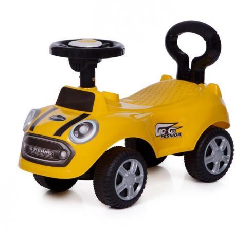 Каталка-машинка Baby Care Speedrunner пластик от 1 года на колесах желтый цены онлайн