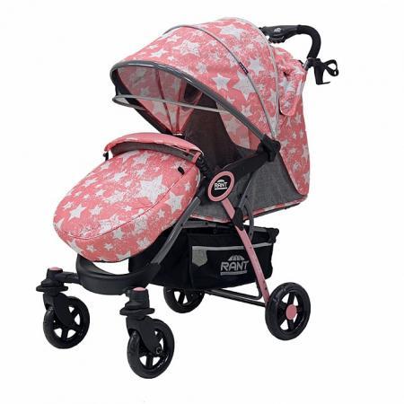 Коляска прогулочная Rant Elen (stars (pink) прогулочная коляска carmella princess pink page 2