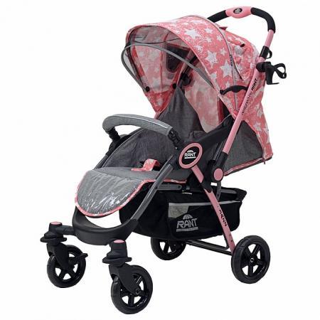 Коляска прогулочная Rant Jazz (stars pink) прогулочная коляска carmella princess pink page 1