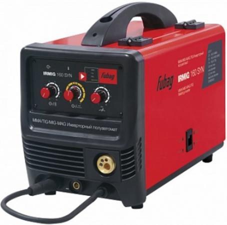 Сварочный полуавтомат_инвертор IRMIG 160 SYN (38641) + горелка FB 150_3 м (38440) дверца для кошек трикси 38641