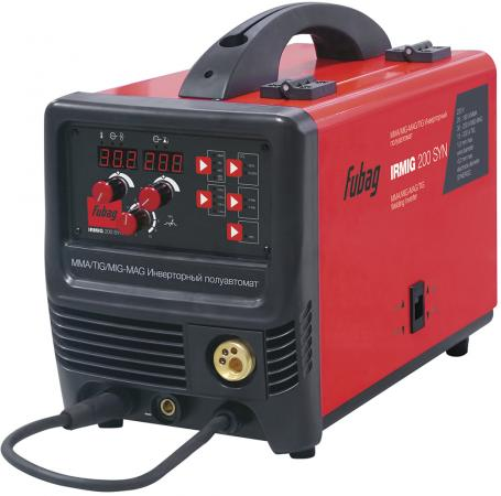 Аппарат сварочный Fubag IRMIG 200 SYN (38643) + горелка FB 250_3 м (38443) цена
