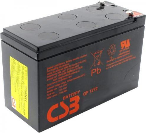 Батарея CSB GP1272 F1 12V/7.2AH аккумулятор csb gp1272 28w 12v7ah f2