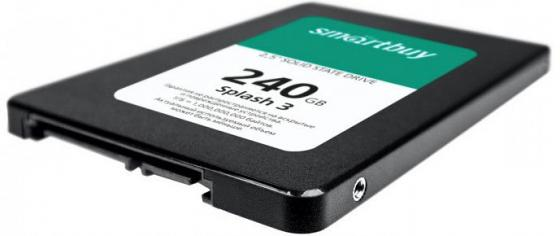 Твердотельный накопитель SSD 2.5 240 Gb Smart Buy Splash 3 Read 500Mb/s Write 450Mb/s 3D NAND TLC