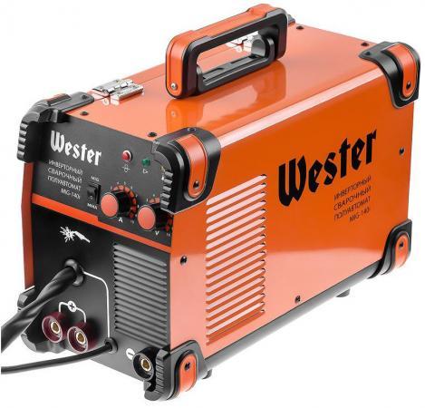 Аппарат сварочный Wester MIG-140i сварочный аппарат wester iwt120