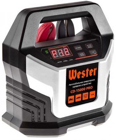 Зарядное устройство WESTER CD-15000 PRO для АКБ 12В, макс 15А, АКБ до 220Ач устройство зарядное wester ch15