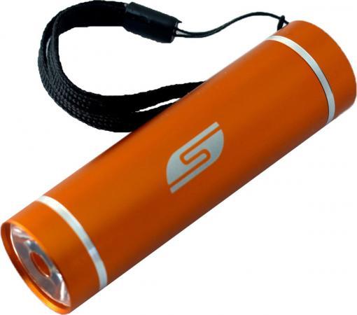 Фонарь велосипедный Solaris T-5OR оранжевый фонарь solaris t 5v светодиодный велосипедный зеленый
