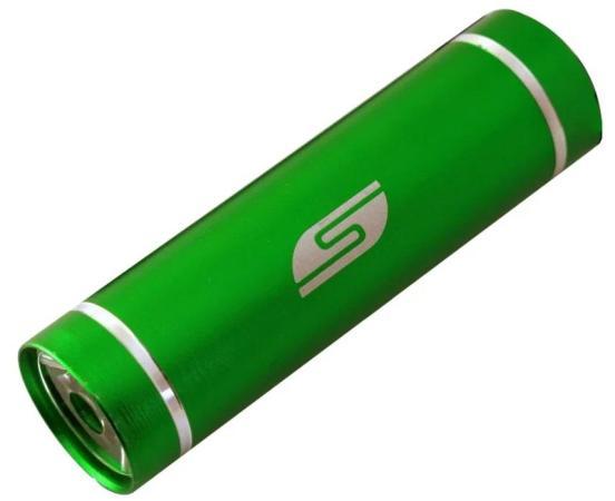 Фонарь велосипедный Solaris T-5GR зеленый