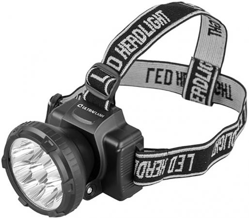 Фонарь налобный Ultraflash LED5363 чёрный фонарь ultraflash led5374