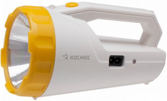 Прожектор переносной КОСМОС ACCU9191 белый оранжевый фонарь прожектор космос accu678sled белый