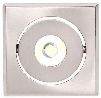 Светильник HOROZ ELECTRIC HL670L64 LED мат.хром 1Вт 30000ч 65Лм 6400К 30х20х62мм 80° спот horoz electric hl7180l