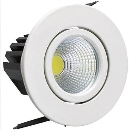 Светильник HOROZ ELECTRIC HL6731LW65 LED белый 3Вт 40000ч 200/220Лм 6400К 55х20х65мм 120° спот horoz electric hl7180l