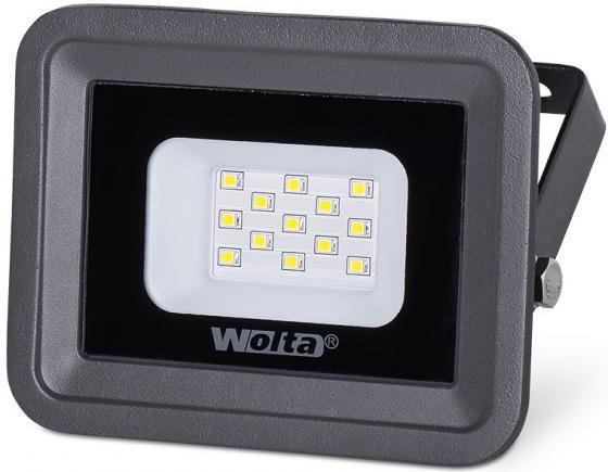 Светодиодный прожектор WOLTA WFL-10W/06 5500K, 10 W SMD, IP 65,цвет серый, слим прожектор wolta wfl 150w 06 150w 220v 5500k smd ip65