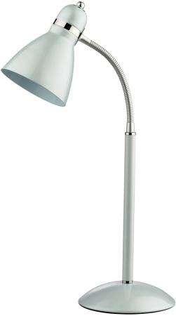 Лампа настольная ODEON LIGHT 2411/1T белый металлик E27 60W Mansy colorful diy e27 silicone pendant light lampholder