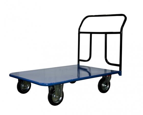Тележка СТЕЛЛА КП-400 700х1000 150-И платформенная 4 колеса платформенная 4 х колесная тележка с фанерой стелла кпт 500 150 и