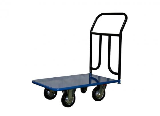 Тележка СТЕЛЛА КП-150 500х800 125-К платформенная 4 колеса платформенная 4 х колесная тележка с фанерой стелла кпт 500 150 и