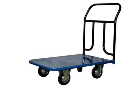 Тележка СТЕЛЛА КП-300 600х900 125-K платформенная 4 колеса цена
