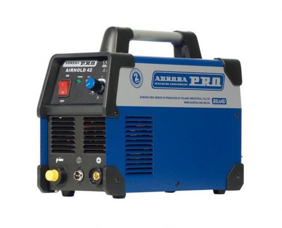 Аппарат плазменной резки AURORA PRO AIRHOLD 42 Mosfet 6.6кВА 220В 12мм 80л/мин IP21 395x153x301мм schwaiger 51351 3