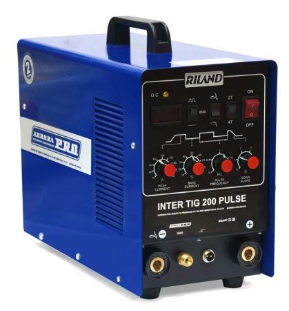 Инвертор сварочный AURORA PRO INTER TIG 200 PULSE Mosfet 6.2кВт 220В TIG/MMA 10-200А сварочный аппарат aurora pro inter 160