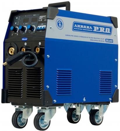 Сварочный полуавтомат AURORA SPEEDWAY 300 IGBT 11.7кВт 380В MIG/MAG/MMA 70-300А 0.8-1.2мм 31.5кг